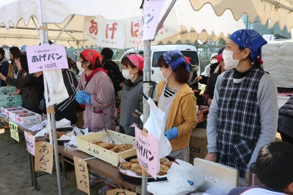 写真: 第40回横島いちごマラソン大会 物産展