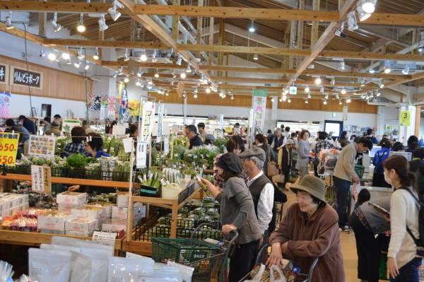 写真: ファーマーズマーケット夢大地館 7周年祭