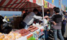 【フェス】野菜や芋天を販売/JAやつしろ