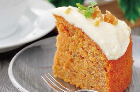 写真: 簡単!しっとりキャロットケーキ