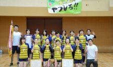【JA県親善大会】はちべえチーム(やつしろ)優勝 ソフトバレー熱戦