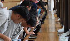 【米】等級格付け50点で目慣らし/熊本県JA農産物検査協程度統一会