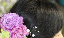 【成人式】髪飾り華々しく/JA菊池