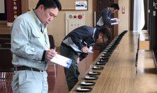 倉田さん県代表(あまくさ)/熊本県JA農産物検査協鑑定会
