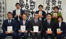 【寄贈式】小・中学校へ図書を寄贈/熊本県青協とJA県女性協