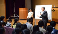 【講演会】池上彰さん農業語る 熊本で中・高生に講演 JAグループ熊本が特別協賛