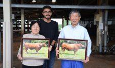 【あか牛】GI「くまもとあか牛」 優良種生産者を表彰