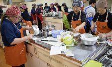 【生活指導員】ふれあい食材で冬料理講習会/JA熊本経済連