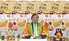 【デコポン】中晩かん販売111%計画 JA熊本果実連